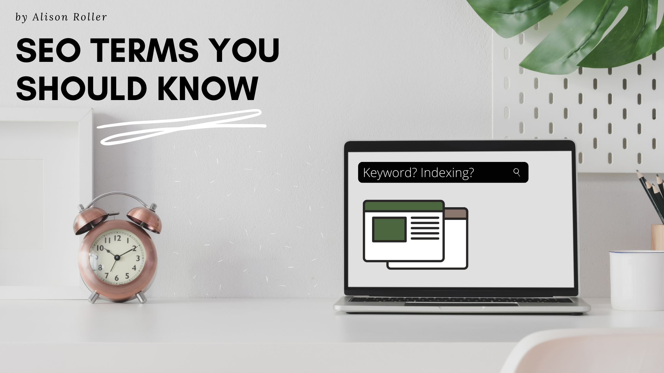SEO Terms You Should Know graphic